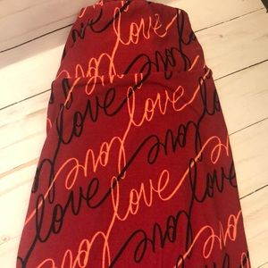 RARE Valentine's Day LuLaRoe Leggings